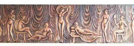 grc浮雕壁画系列